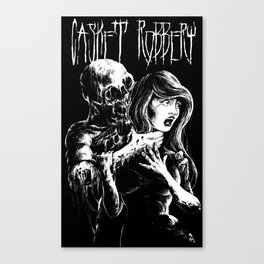 """Casket Robbery """"Annibelle's Hell"""" T-shirt Canvas Print"""