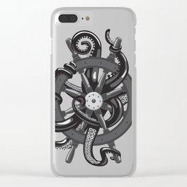 Captain octopus Clear iPhone Case