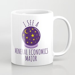 Mineral Economics Student Graduation Gift Coffee Mug