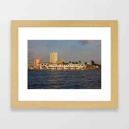 Shoreline in Fort Myers I Framed Art Print