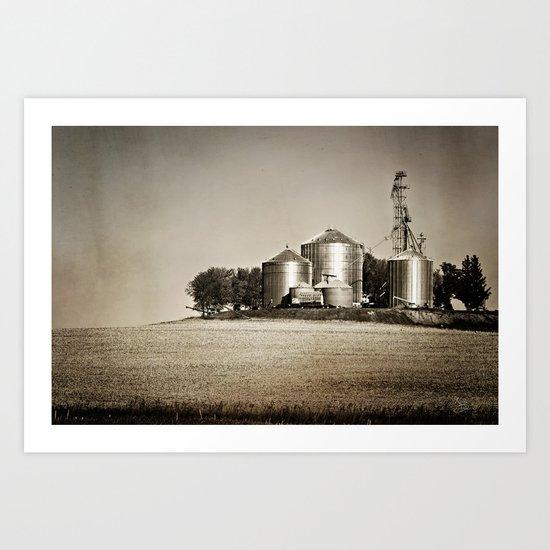 Midwestern Industry Art Print