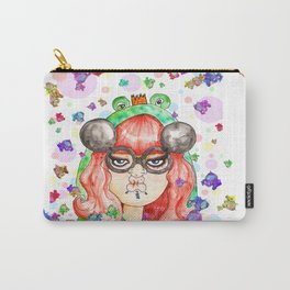 Miss Frog Carry-All Pouch
