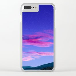 Candy Floss in South African Skyline Clear iPhone Case