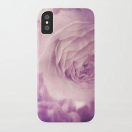 Vintage Ranunculus iPhone Case