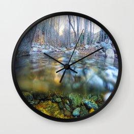 Etiwanda Falls Wall Clock