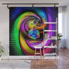 Rainbow Creations Wall Mural