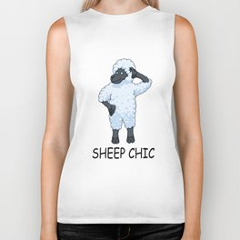 Sheep Chic Biker Tank