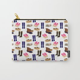 Preppy Shoes Carry-All Pouch