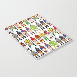 Superhero Butts Notebook