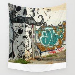 Corner Wall  Wall Tapestry