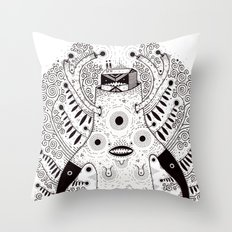g r o w t h Throw Pillow