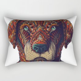 Labrador (Color Version) Rectangular Pillow