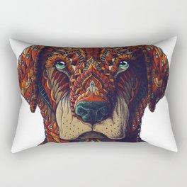 Labrador (Color Version) Rectangular Pillow