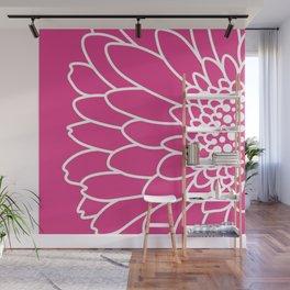 Pink Gerbera Wall Mural