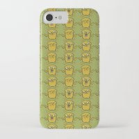 jake iPhone & iPod Cases featuring JAKE by SuperPills
