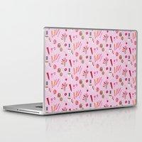 makeup Laptop & iPad Skins featuring makeup by fungusmiu