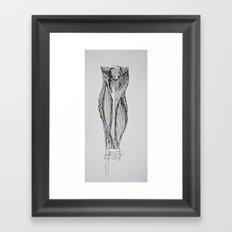 anatomy 201 Framed Art Print