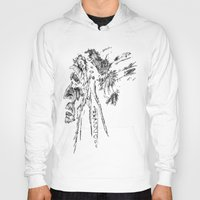 native american Hoodies featuring Native American by Sandy Elizabeth