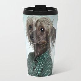 Chinese hairless crested dog Travel Mug