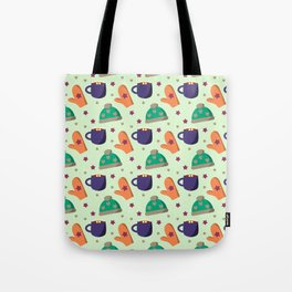 Have a cup of happyness green Tote Bag