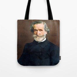 Giuseppe Verdi (1813 – 1901) by Giovanni Boldini (1842 - 1931) Tote Bag