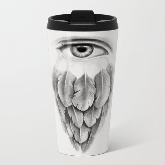 Life Under His Eye Metal Travel Mug
