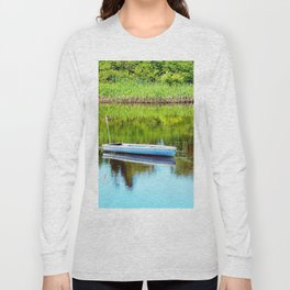 Boat on the Pond Long Sleeve T-shirt