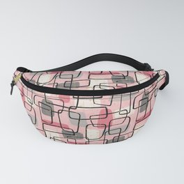Atomic MCM Grid in Pink Parlor Fanny Pack