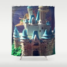 The Enchanted Castle  Shower Curtain