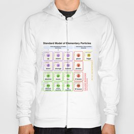 Physics - Standard Model of Elementary Particles - Physicist Hoody