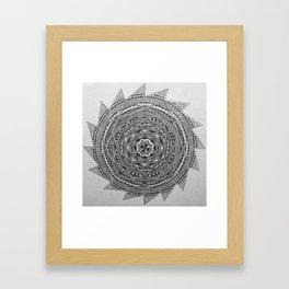 The Pattern 3 Framed Art Print