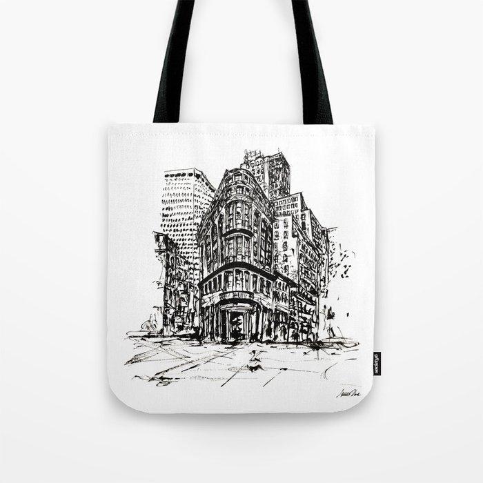 Urban Inkscape 7 London Tote Bag