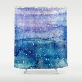 Starry Sky Shower Curtain