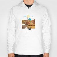 morocco Hoodies featuring Marrakech, Morocco  by Design4u Studio