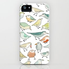 birds outside my window iPhone Case