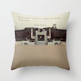 If. Throw Pillow