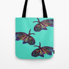 Butterflies gradient  Tote Bag