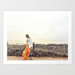 Beach Wanderlust Art Print