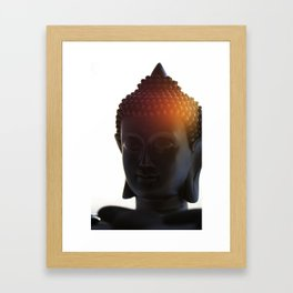 Buddha Lights Framed Art Print
