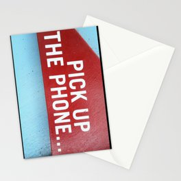 Pick Up The Phone... Stationery Cards