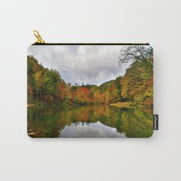Reflection Photo at Fish Pond Lake outside of Jenkins, Kentucky Carry-All Pouch