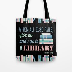When All Else Fails... Tote Bag