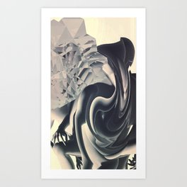 Over Thinking Cycles Art Print