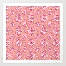 Artichoktica Rosa Art Print