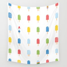 Popsicle - Bright Random #609 Wall Tapestry
