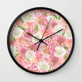 Clovers Meadow Wall Clock