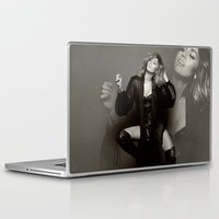 miley cyrus Laptop & iPad Skins featuring Miley Cyrus by BreakoutStore