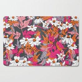 Bright Floral Fun Cutting Board