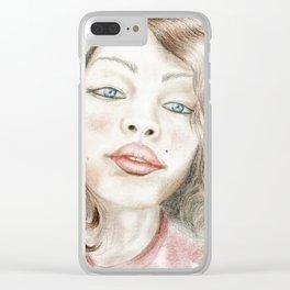 Bella mia Clear iPhone Case