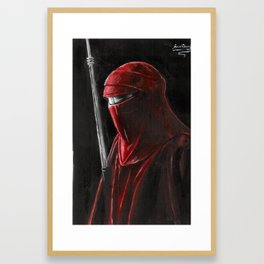 Imperial guard Framed Art Print